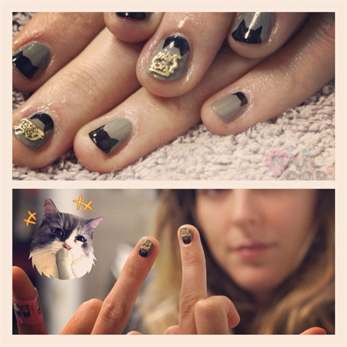 Cat Fight Nails