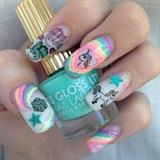Rainbow Magic Nails