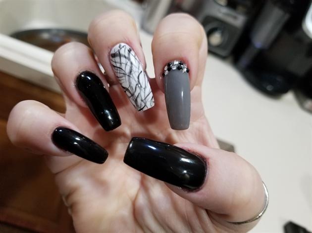 Jenn's winter nails