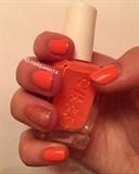 Glittery Peach
