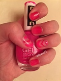 Pink Gradient/Chevron