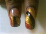 dark gold thumbs