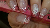 pink crushed shells