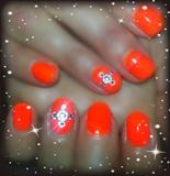 Orange bling