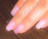 Natural-Glitter Nails