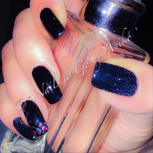 Pure-Black & Animal & Glitter