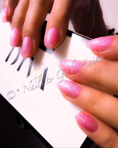 Huba-Buba Pink Glitter Fullcover