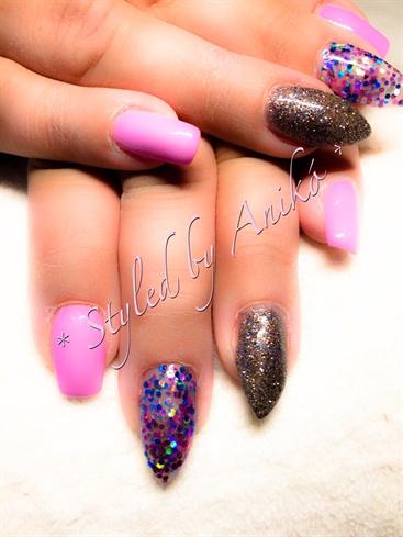 Multicolor & Design Lilac & Dark Diamond
