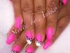 Neon Baby-Pink & White & Leo Print