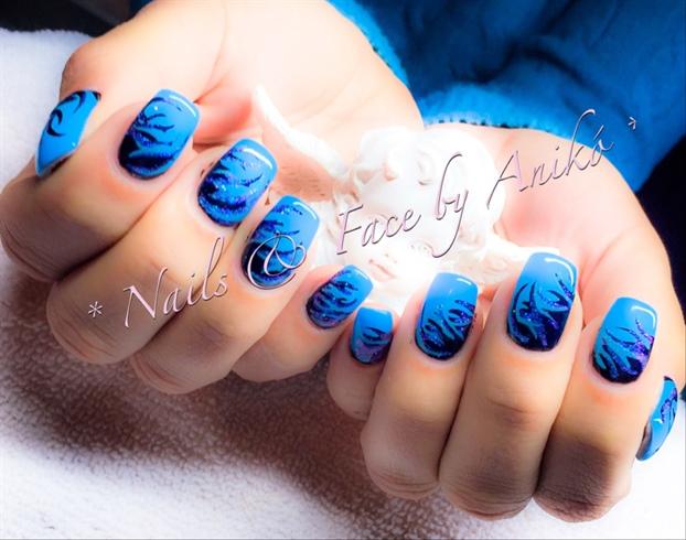 Blue-Fire Nails