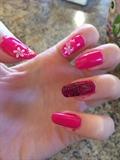 Pink Floral Stamping Tool Design