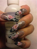 acryl flowers