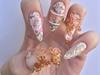 Vintage Nail by Akzentz 2 challenge NTNA