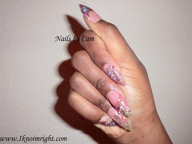 Pink Ice Stilettos
