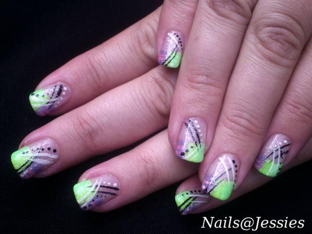 Funky Nail Art Nail Art Gallery