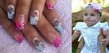 photo printed nails