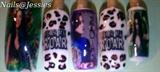 Katy Perry printed nails