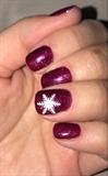 Cute Little Snowflake Nails