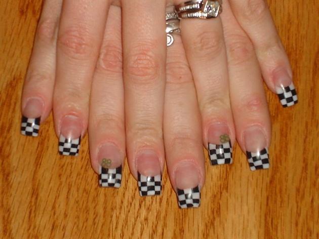 Checkered Flags (Go Dale Earnhardt Jr.)