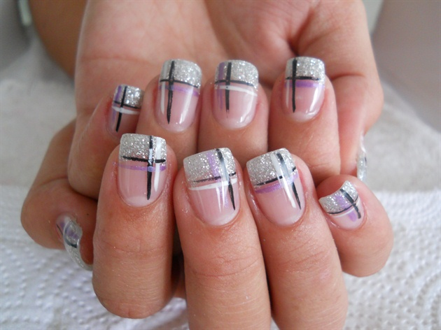 Gel tips with nail art nail art gallery gel tips with nail art prinsesfo Gallery