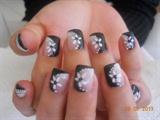 Hand Painted Gel Tips