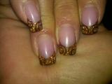 Circles in copper & gold