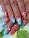 Rococo style nails