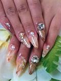 Acrylic Marble nails