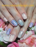 Simple Print nails
