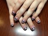 CND Additives, Black, Perfect Pink.