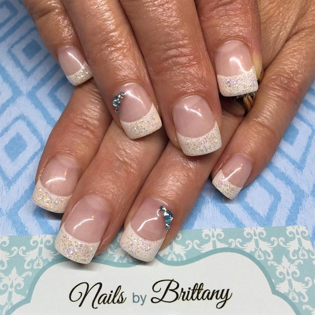 French pixie dust glitter - Nail Art Gallery