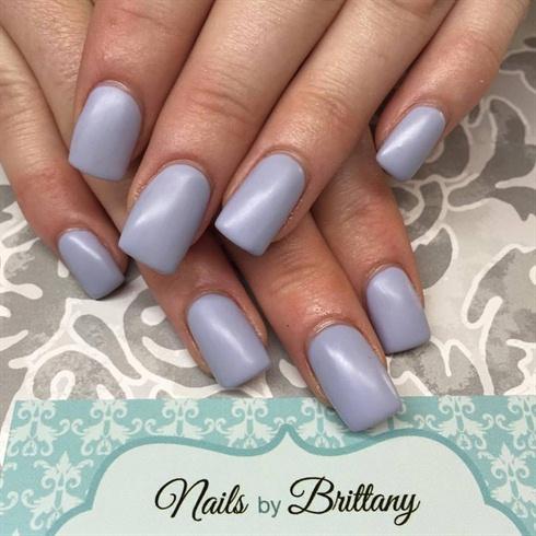 Lilac Matte Nails