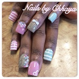 Dainty Square Nails