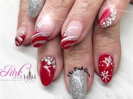 Nails magazine nail salon techniques nail art business tips nail art gallery snowflakes and swarovskis prinsesfo Choice Image