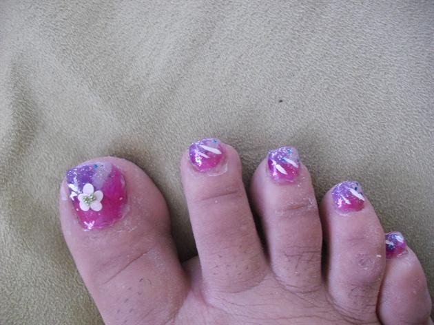 Fancy Pedicure Nail Art Gallery