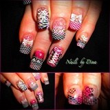 Kristine B-day nails