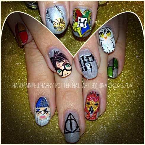 Harry Potter Nails for Orlando FL