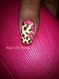 wild roses border nail