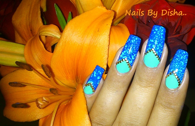 Water Spotted nails...