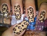 Glitter Leopard Print