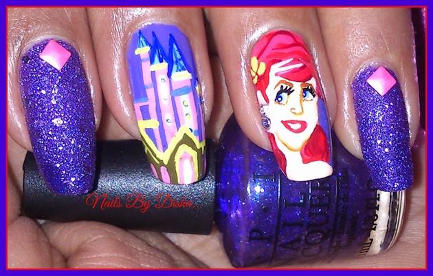 Hand painted Disney Princess