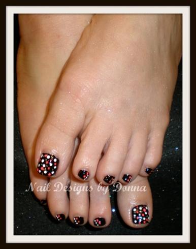 Polka dot toes nail art gallery polka dot toes prinsesfo Image collections