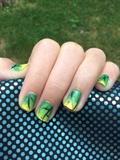 Dark Forest Nails