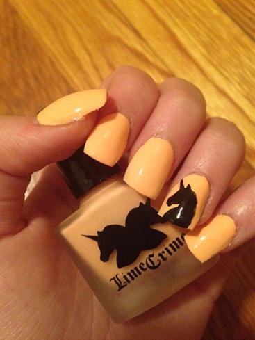 Like Crime Unicorn Nail Art