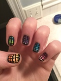 Cool Nails I Did A While Ago :)