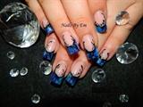 Light & Dark Blue