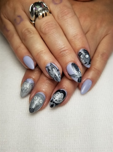 Frankenweenie nails!