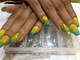 World Cup Inspired Nails Fr Last Summer