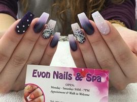 nail art: Evon Nails & Spa