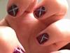 2 Tone X Nails